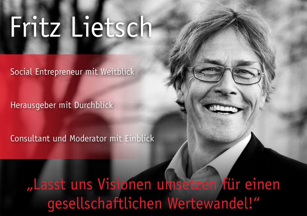Fritz Lietsch Rednerkarte